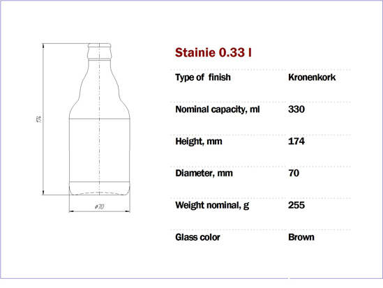 Picture of Steinie 330 ml